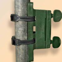 Isolateur + 2 colliers Vert 8CV
