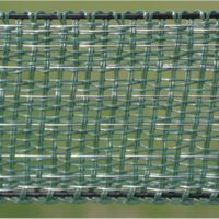 100 m ruban vert 4 cm PV4