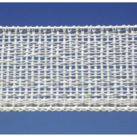 100 m ruban blanc 4 cm PB4